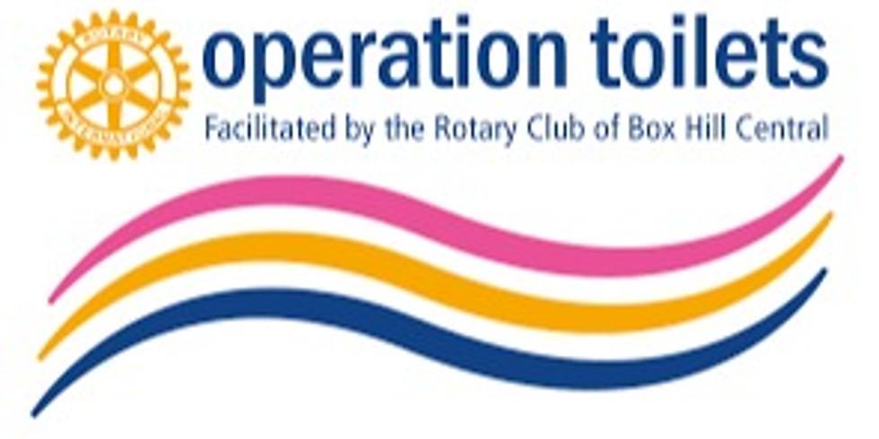 RCM Club  Meeting - PP Mark Balla - Operation Toilets