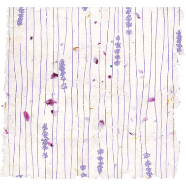 Lavender Screen Print