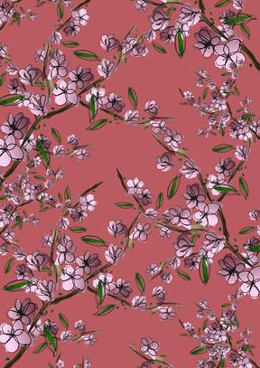 Watercolour Cherryblossom