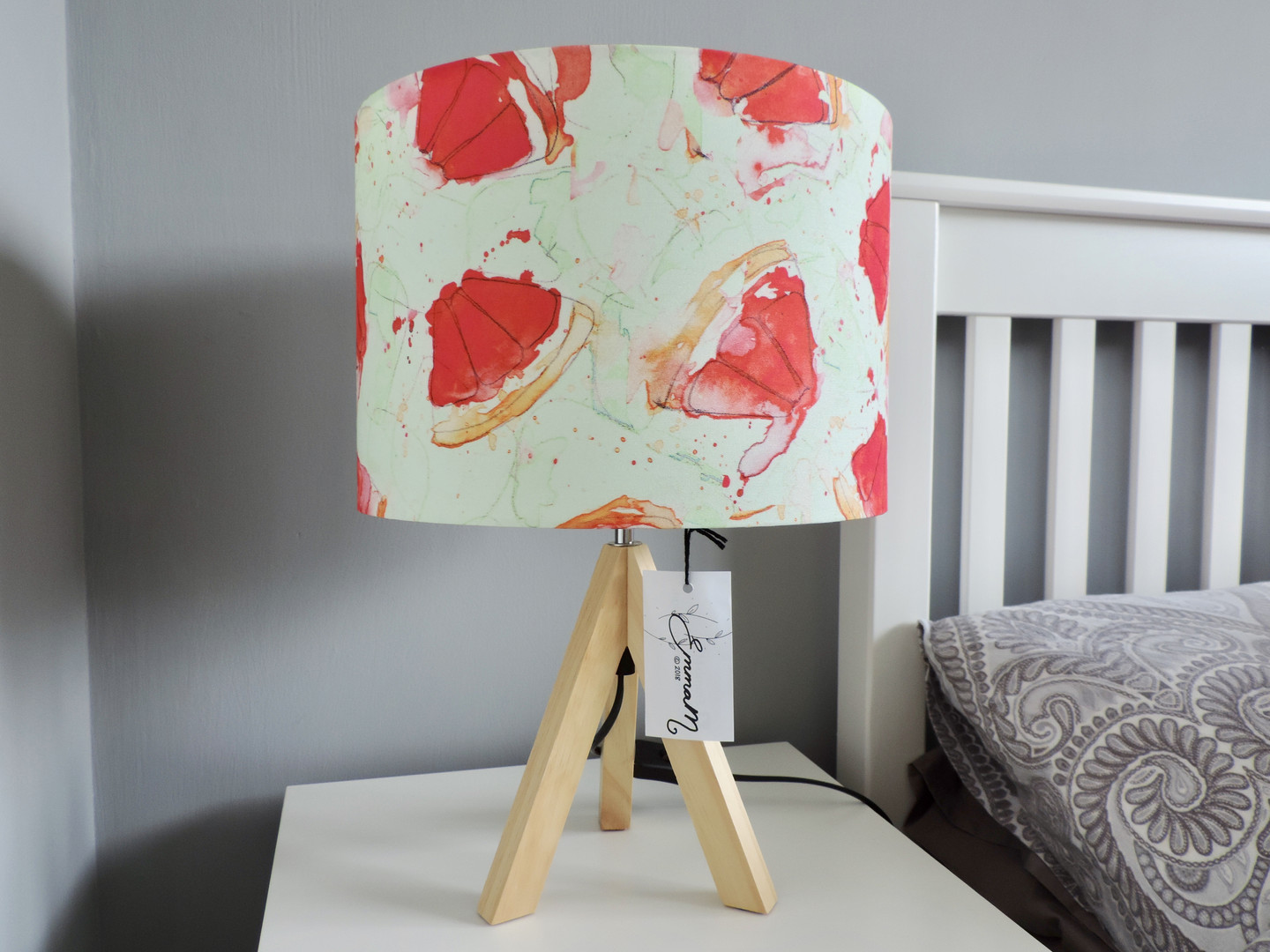 Red Grapefruit Lampshade