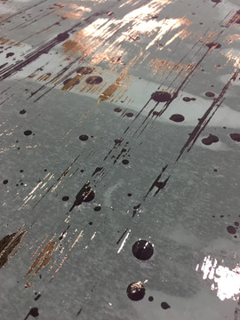 Foiled Paintmarks