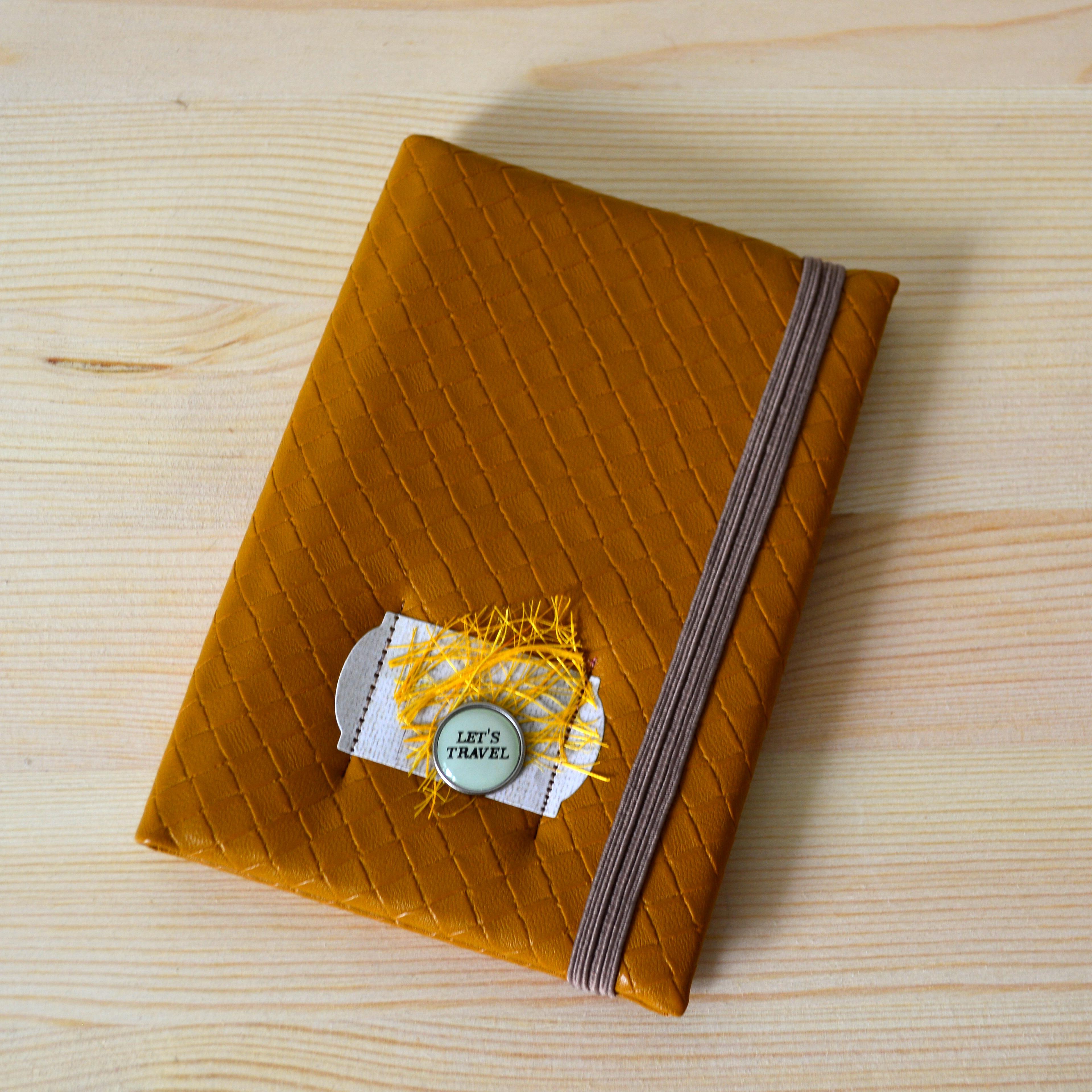 """Обложка для паспорта """"Let's travel"""""""