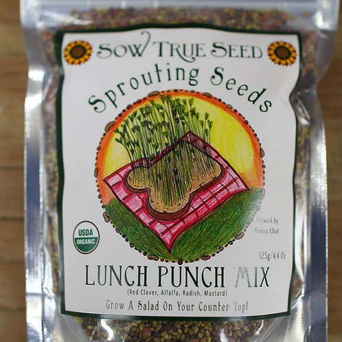 Lunch Punch Sprouting Seed Mix