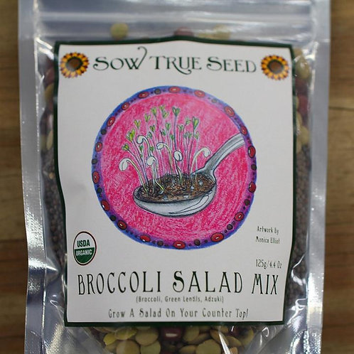 Broccoli Salad Sprouting Mix