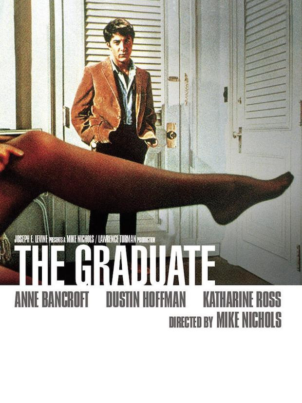 Poster for the movie, The Graduate.