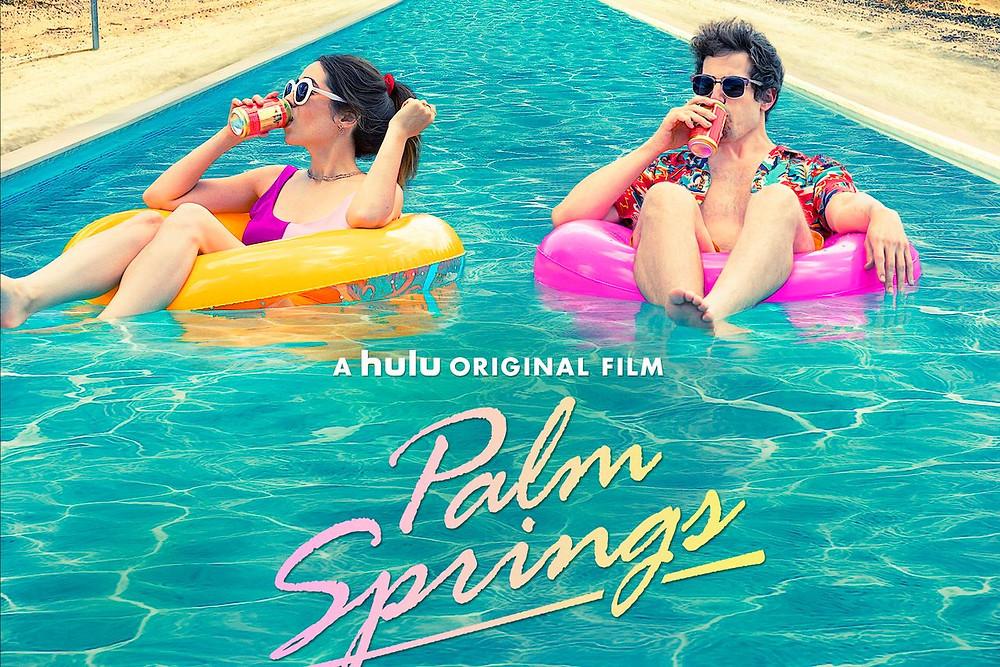 Palm Springs movie poster - Andy Samberg - Hulu