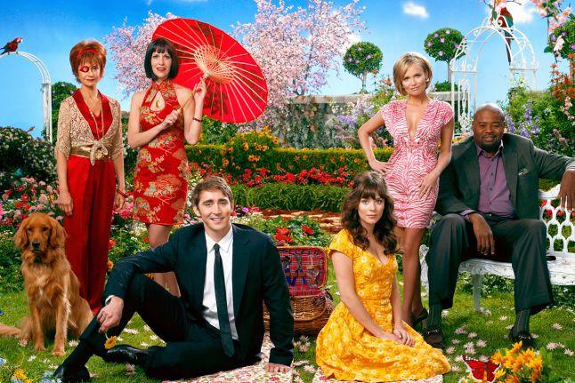 Pushing Daisies cast - Lee Pace, Anna Friel, Kristin Chenoweth, Chi McBride
