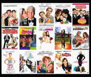 posters of 90s romantic comedy movies