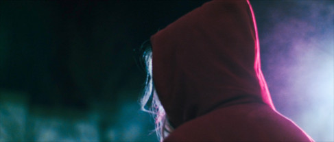 Faceless Woman backlit