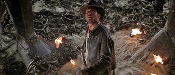 Indiana Jones and snakes