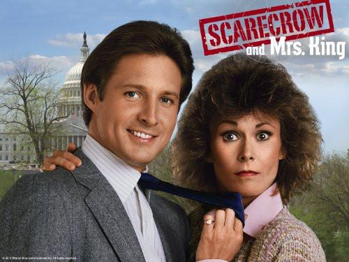 Scarecrow and Mrs. King television show poster - Kate Jackson, Bruce Boxleinter