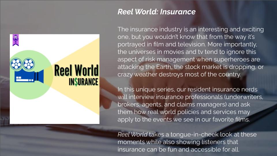 Reel World: Insurance - Forgotten Entertainment