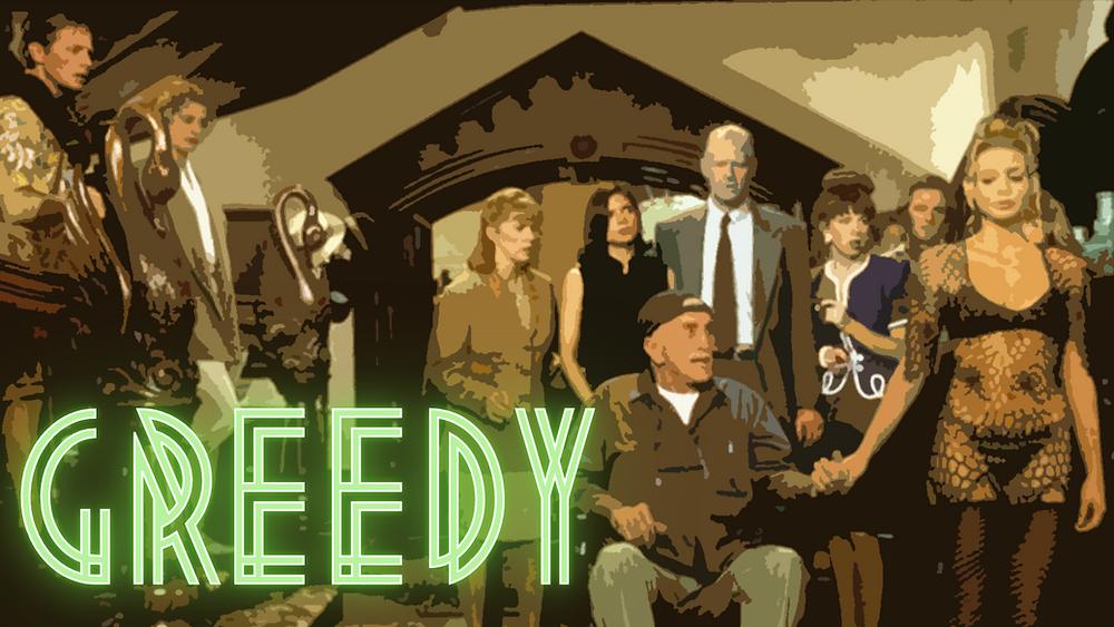 Greedy - Forgotten Cinema Podcast - Michael J Fox, Kirk Douglas