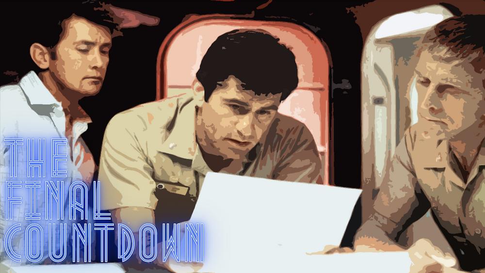 The Final Countdown - Martin Sheen, Kirk Douglas - Forgotten Cinema Podcast