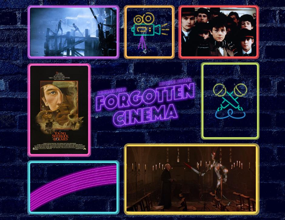 Young Sherlock Holmes stills - Forgotten Cinema Podcast