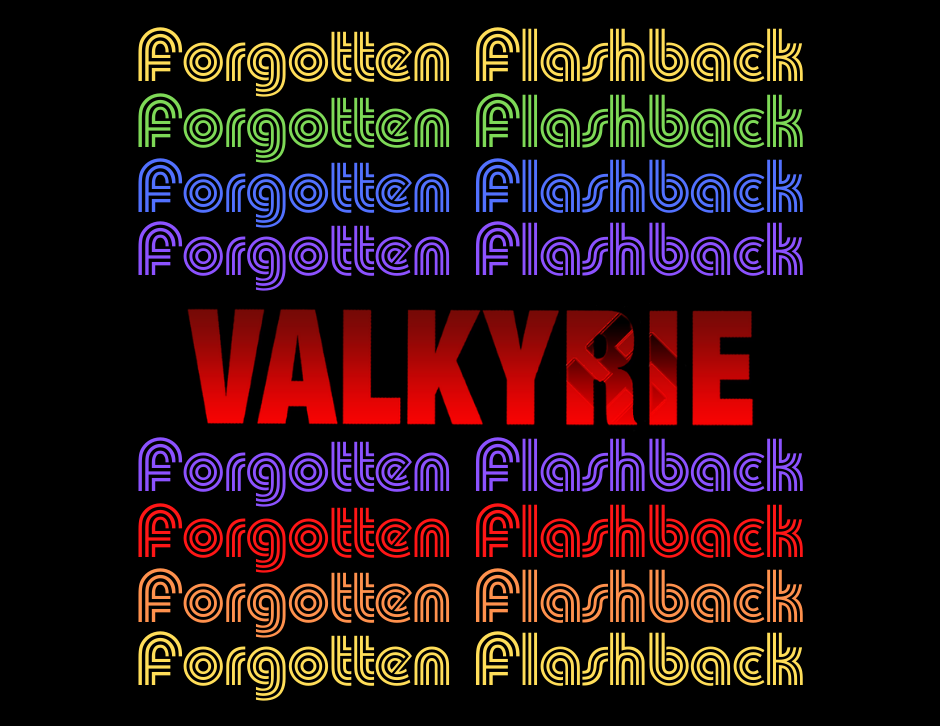 Valkyrie movie title - Forgotten Cinema Podcast