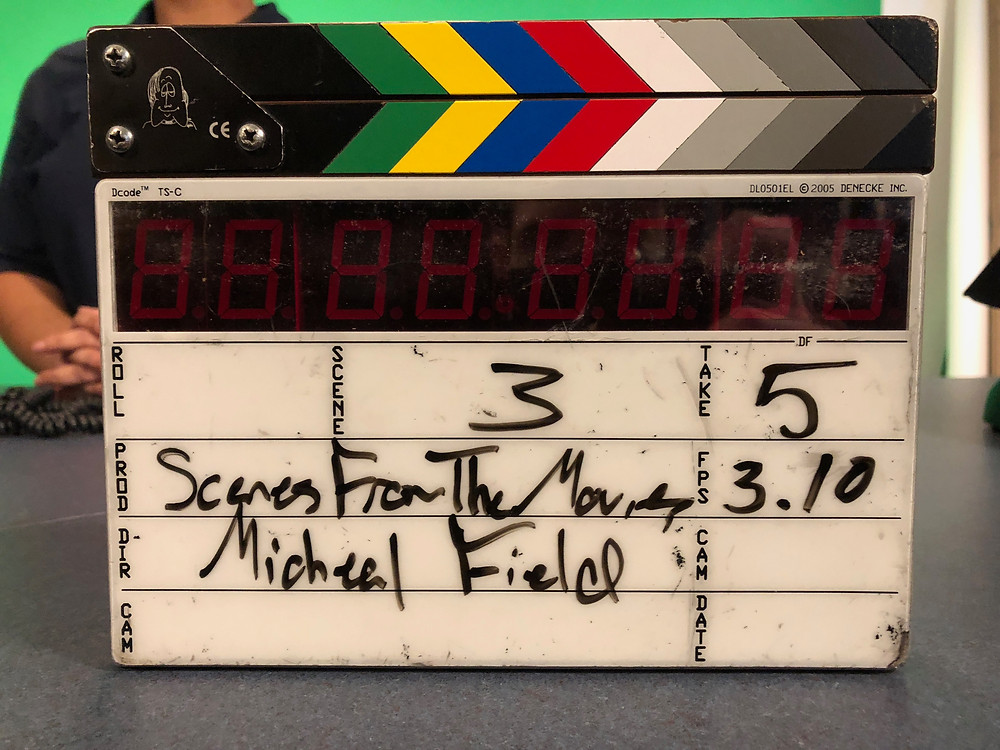 Clapper for Season 3 of Scenes from the Movies
