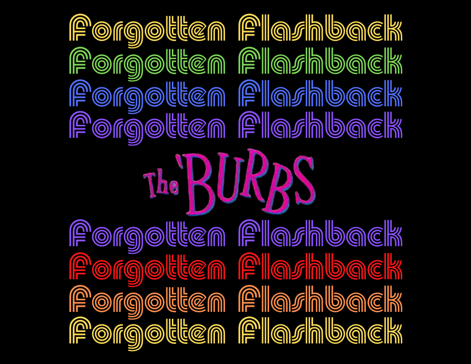 The 'Burbs title - Forgotten Cinema Podcast