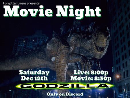 Movie Night: Godzilla