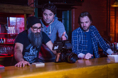 Behind the Scenes: Renato Ghio, Michael Field and Dan Mauro