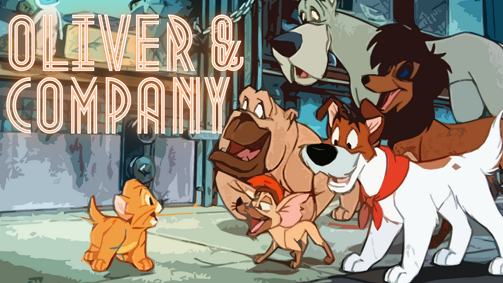 Oliver & Company - Forgotten Cinema Podcast