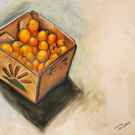 Cherry Tomatoes drawing
