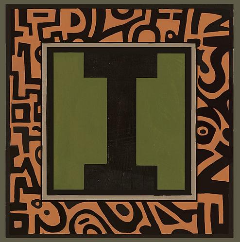 I Alphabet Letter Print