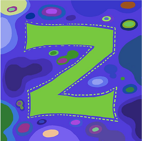 Z Alphabet Letter Print