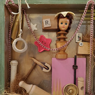 Doll Head Assemblage