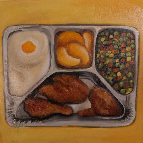 Fried Chicken TV Dinner