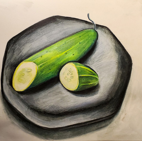Cucumber drawing