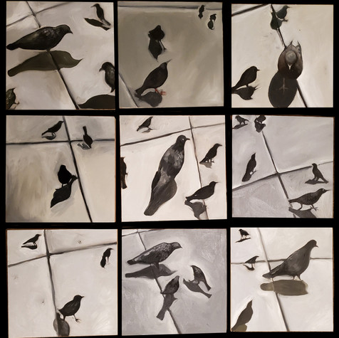 Set of 9 Birds