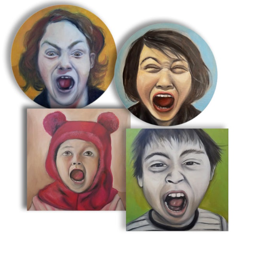 Set of Four Drink Coasters