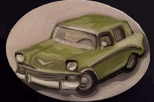 1956 Chevy Nomad Wagon painting