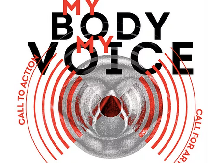 """Zayneb"" Scream painting accepted into ""My Body My Voice"" show this fall!"