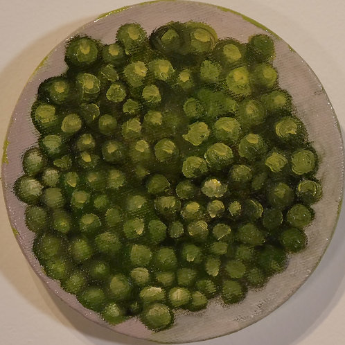 Small Round Peas Painting