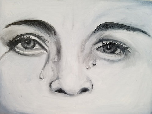 Crying Painting