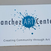 Sanchez Art Center Sign