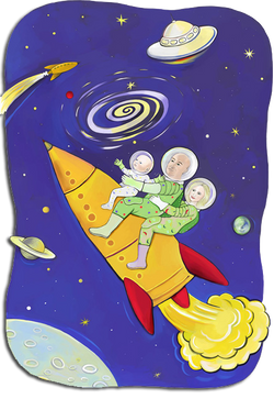 Outer Space Family #1