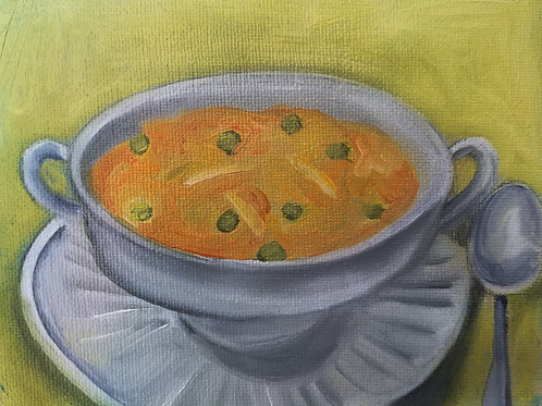 Small Tomato Soup painting