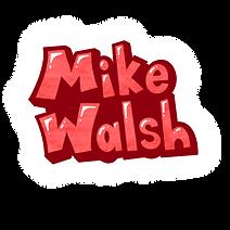 Mike Walsh music logo.