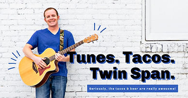 Bobby Ray Bunch.  Tunes, Tacos, Twin Span!