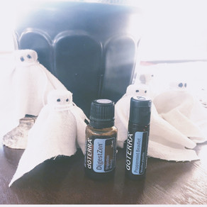 BOO! Upcycle Your Essential Oils (and keep that Peppermint and Digestzen handy)