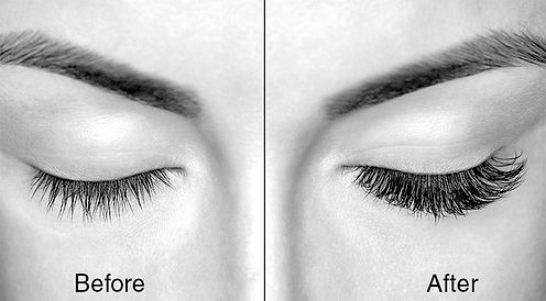 eyelah extension before and after