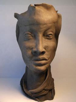 Head Vase (front view)