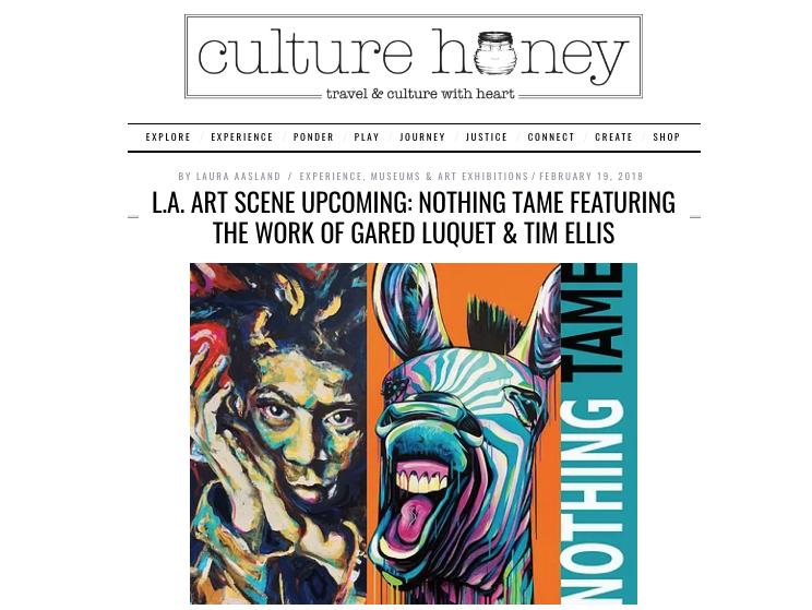 Culture Honey interview