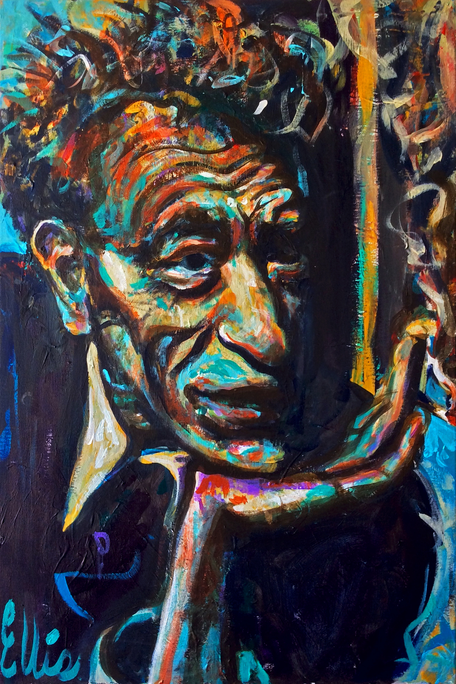 Portrait of Alberto Giacometti