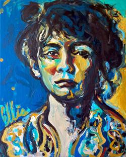 Portrait of Camille Claudel