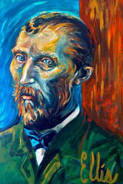 Portrait of Vincent van Gogh