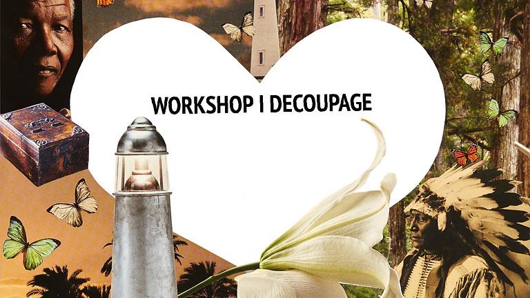 Workshop i decoupage APRIL